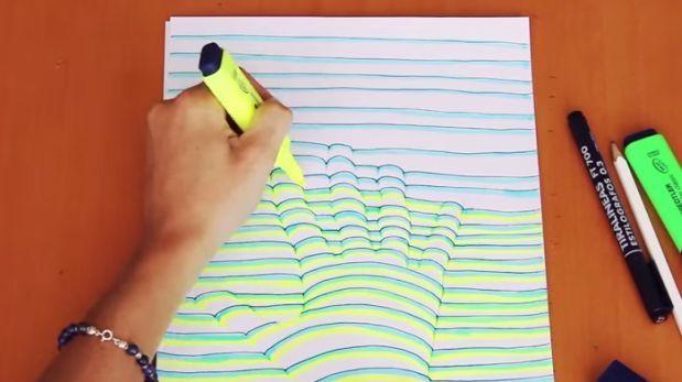 Youtube Dibujar Tu Mano En 3 Dimensiones Es Muy Fácil