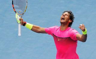 Rafael Nadal avanzó a los cuartos de final del Australian Open
