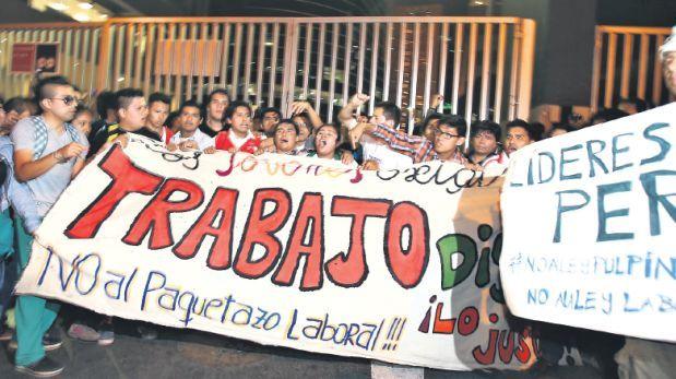 Ley laboral juvenil: Oposición tendría votos para derogarla