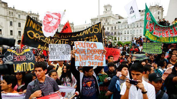 Ley juvenil: hoy se realizará la quinta marcha por derogatoria