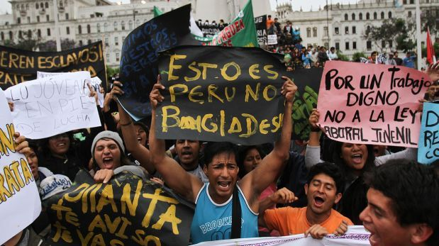 Ley Pulpín: Congreso derogó polémico régimen laboral juvenil