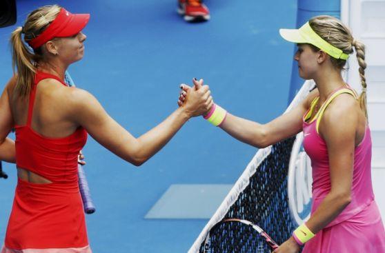 Sharapova vs. Bouchard: duelo de bellezas en el Australian Open