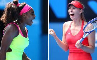 Serena Williams y Sharapova jugarán final del Australian Open
