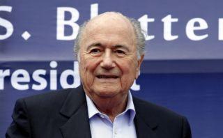 Blatter confirma que irá a la reelección por presidencia FIFA