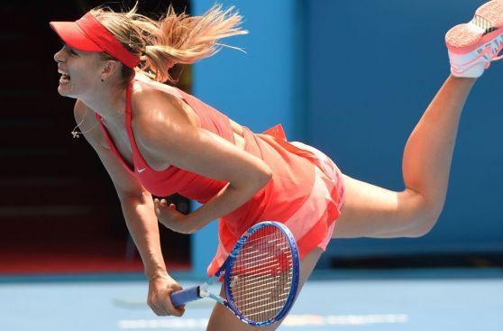 María Sharapova: las fotos de su victoria en semis de Australia