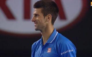Insólito: Djokovic no se dio cuenta que había ganado tercer set