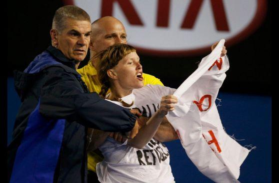 Australian Open: manifestantes paralizaron final masculina