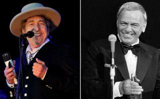 """Bob Dylan: """"Frank Sinatra es la montaña que tienes que escalar"""""""