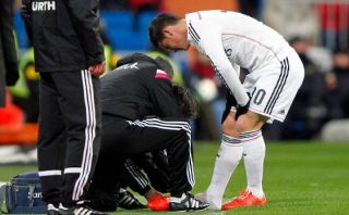 James Rodríguez fue operado con éxito por fractura en el pie