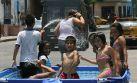 Prohíben piscinas portátiles en calles de Carmen de la Legua