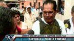 Caso Falla: policía capturado acusó a ex comisario de San Borja - Noticias de diopoldo aguilar