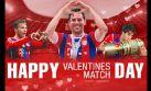 Claudio Pizarro, Bayern Múnich y el mensaje de San Valentín