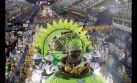 Ni la lluvia paró la fiesta en el carnaval de Río de Janeiro