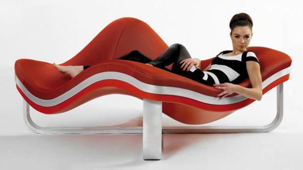 Como en el mar: Descansa mejor en este mueble ondulado
