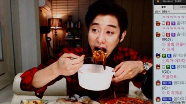 ¿Por qué a los coreanos les gusta ver a otros comiendo por TV?