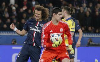 Courtois evitó derrota del Chelsea ante PSG en el último minuto