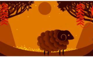 Año Nuevo Lunar 2015: Google lo celebra con original 'doodle'
