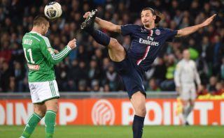 Ibrahimovic fue sancionado con dos partidos por juego violento