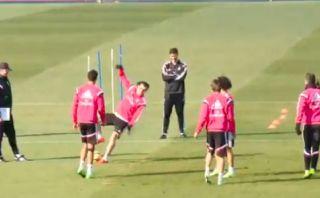 Real Madrid: Gareth Bale y una caída que provocó varias risas