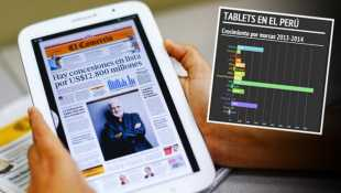 Estas marcas dominan hoy el mercado de las tablets en el Perú