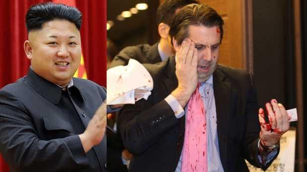 ¿Kim Jong-un ordenó la agresión contra embajador de EE.UU.?