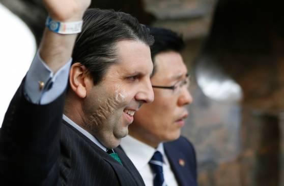 Así quedó el embajador de EE.UU. apuñalado en Seúl [FOTOS]
