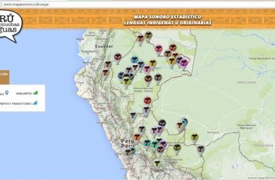 Presentan mapa sonoro de las 47 lenguas indígenas del país