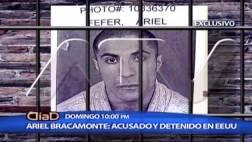 Ariel Bracamonte fue detenido en EE.UU. por golpear a su esposo