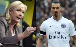 ¿Por qué quiere Le Pen que Ibrahimovic se vaya de Francia?