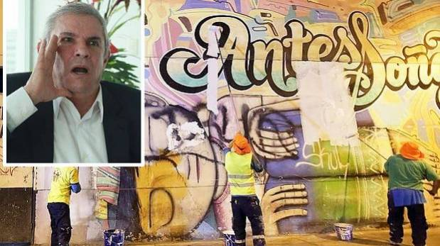 Murales en Lima: viceministro de Cultura criticó a Castañeda