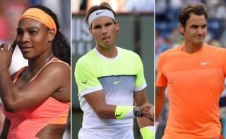 Indian Wells: Serena, Nadal y Federer buscan avanzar hoy
