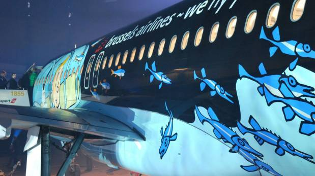 Disfruta un vuelo en este original avión de Tintín