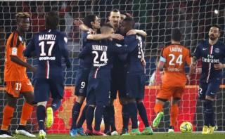 Zlatan Ibrahimovic marcó 'hat trick' en victoria del PSG