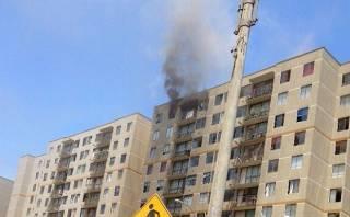 San Miguel: incendio destruye casa en piso 12 de condominio