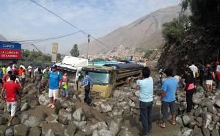 Huaicos en Chosica: se elevó a 8 la cifra oficial de muertos