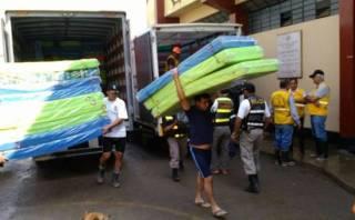 Huaicos en Chosica: municipio de Lima envió ayuda humanitaria