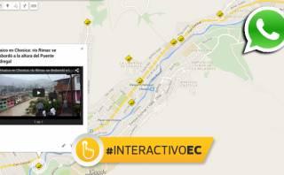 WhatsApp: lectores muestran huaicos en Chosica en videos [MAPA]