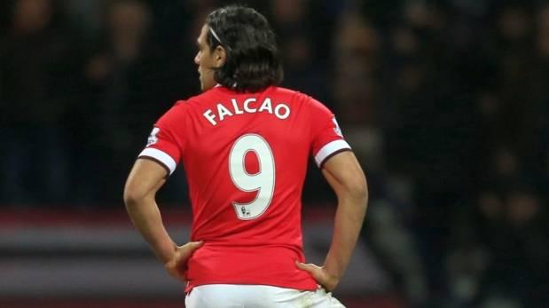 Radamel Falcao deslizó que dejará el Manchester United