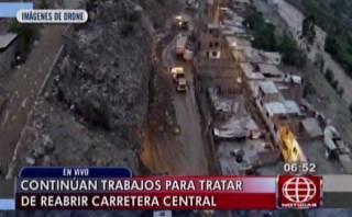 Chosica devastado: Drone muestra zona afectada por huaico