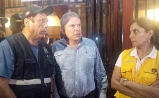 """Castañeda en Chosica: """"Hubo irresponsabilidad de pobladores"""""""