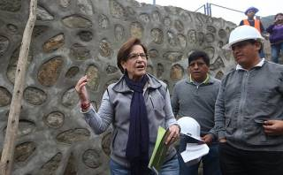 "Villarán: ""Invertimos S/.17,3 millones en muros de Chosica"""