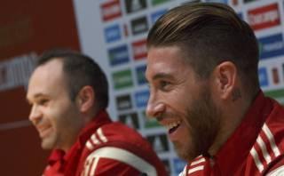 """Sergio Ramos: """"Iniesta es el novio que cualquier madre quiere"""""""