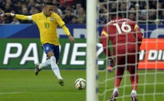 Neymar le anotó golazo a Francia tras un zurdazo imparable