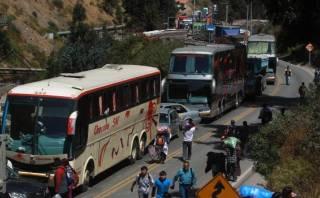 Chosica: se registra intensa congestión en Carretera Central