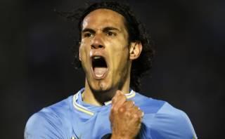 Uruguay derrotó 1-0 a Marruecos con gol de Edinson Cavani