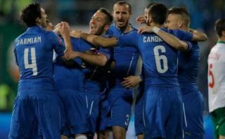 Italia empató agónicamente 2-2 con Bulgaria rumbo a la Euro