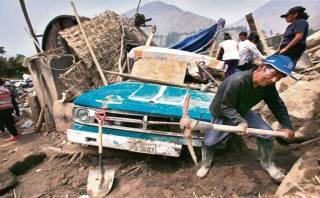 Chosica: desorden y reclamos siguen a una semana de los huaicos