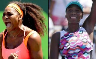 Serena y Venus Williams avanzaron en el Masters de Miami