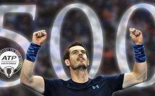 Murray ganó a Anderson en Masters de Miami y logró triunfo 500