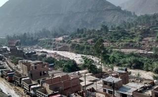 Santa Eulalia está recuperada en un 70% tras caída de huaicos